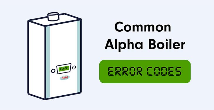 Common Alpha Boiler Error Codes