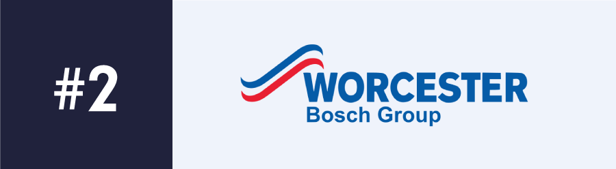 UK company Worcester Bosch provides some of the Great Combi Boiler