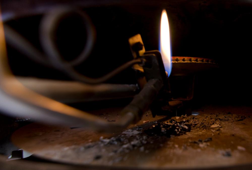 Boiler problems with pilot light